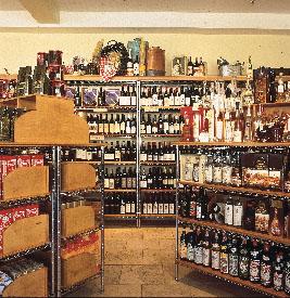 Liquor-display