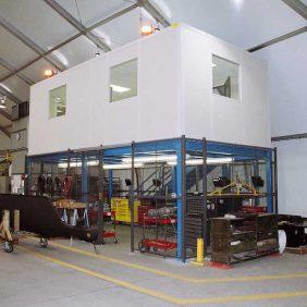 Tool-Crib-Office-Mezzanine