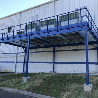 Outdoor Equipment Mezzanine