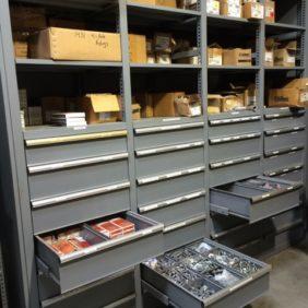 Utility Company Parts Storage