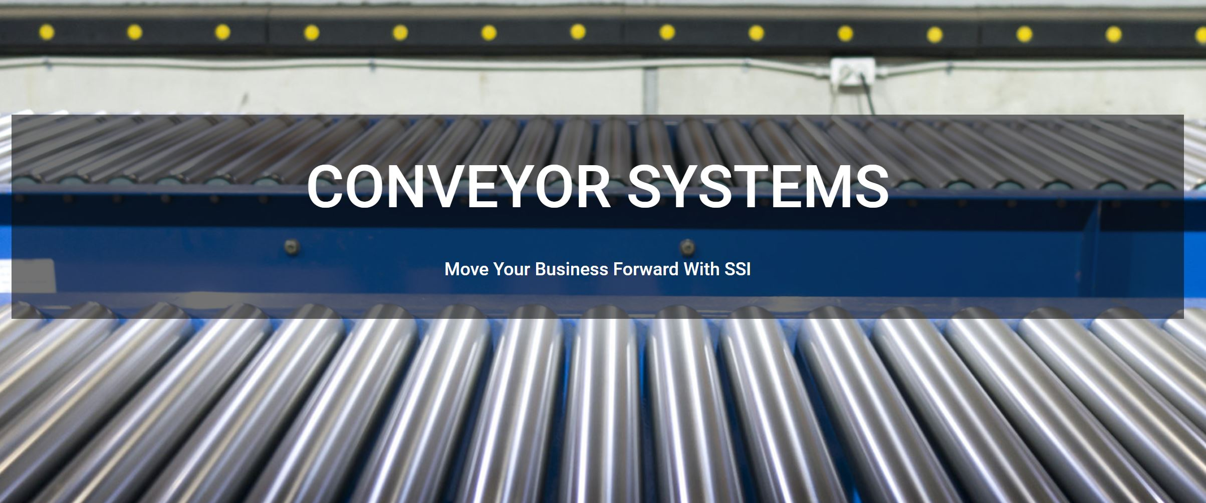 Gravity Conveyor Solutions - SSI
